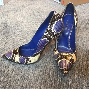 Sergio Rossi Shoes - Sergio Rossi Python shoes