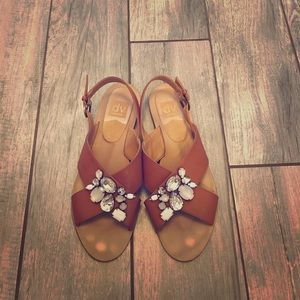 Dolce Vita embellished sandals