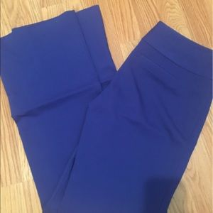 Express royal blue pants