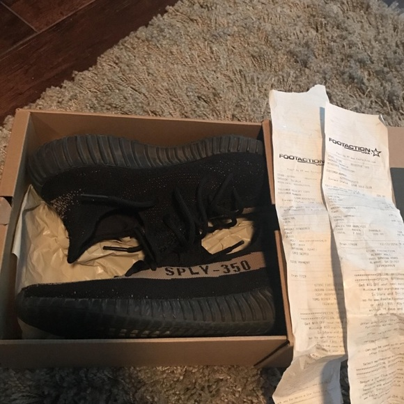 best service a0e2b a64b2 Yeezys 350 boost black and green