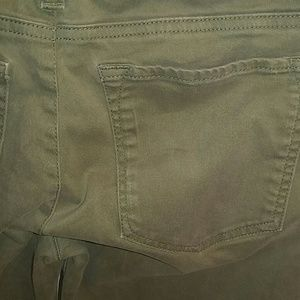 Banana Republic Pants - Banana Republic Green Khaki Stretch Pants