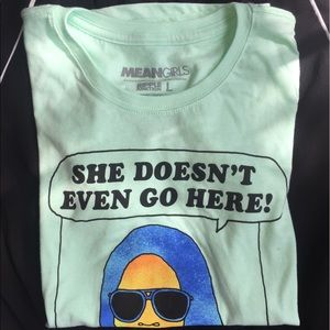 """ModCloth Tops - """"She Doesn't Even Go Here"""" Mint Tee"""