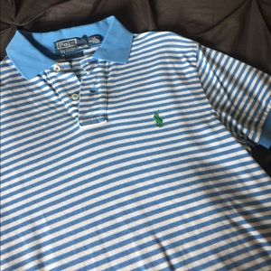Polo by Ralph Lauren Other - 🎉Host Pick🎉Ralph Lauren Custom Fit Striped Polo