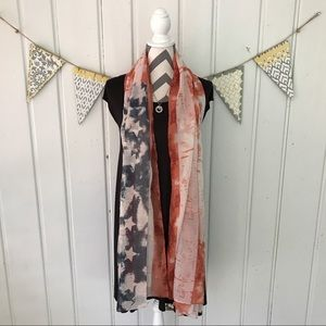 Accessories - American Flag Scarf or Wrap