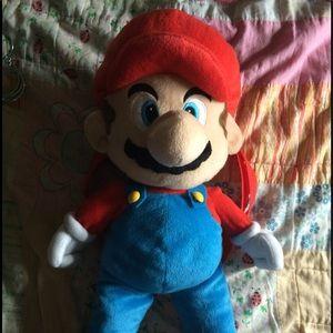Nintendo Other - Super Mario plush backpack bag.