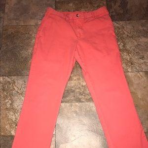 Vineyard Vines Other - Vineyard Vines men's coral pants EUC size 32/32