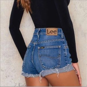 Vintage Lees cut off, awesome summer shorts