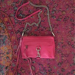 Rebecca Minkoff Handbags - Rebecca Minkoff Hot Pink Mini MAC
