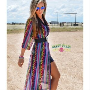 Crazy Train Other - DIAMOND RIO SERAPE DUSTER