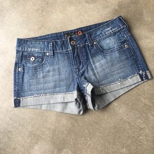 G by Guess Pants - G by Guess Jean Shorts