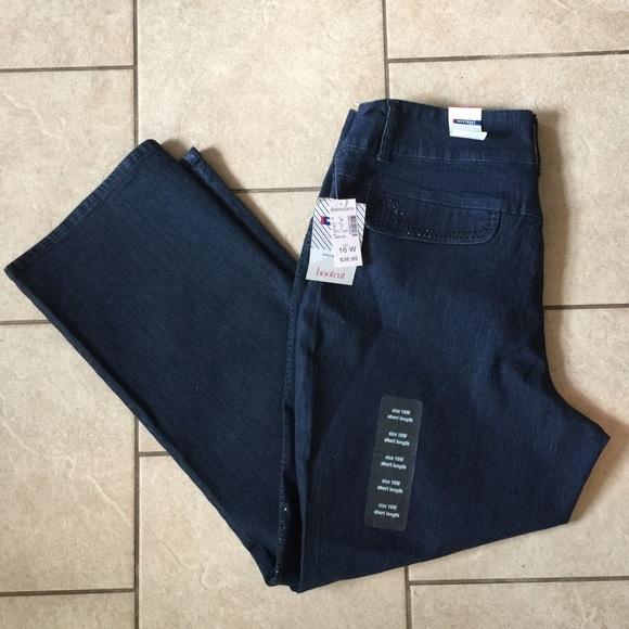 Dress Barn Jeans Westport Stretch Size 16w Short Poshmark