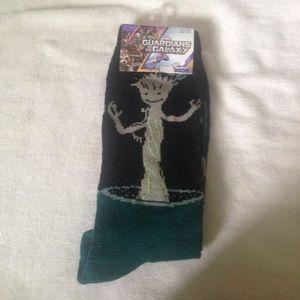 Marvel Accessories - ❄️WINTER ITEM SALE❄️ NWT Marvel Groot Socks