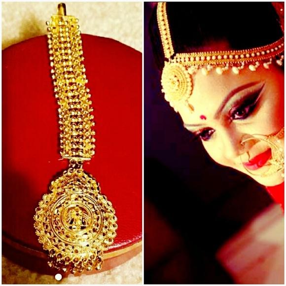 Jewelry Bollywood Indian Tikka Headpiece 22k Plated Poshmark