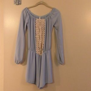 Sage Other - Baby Blue Romper by Sage