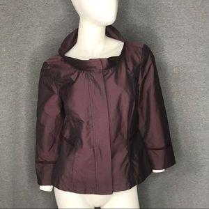 MAXMARA Plum Jacket Size: 10
