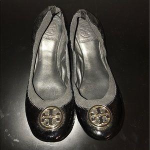 Tory Burch Jolie patent leather flats