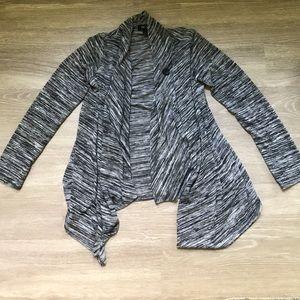 BCX Sweaters - BCX Heathered Long Sleeve Cardigan Women's sz S