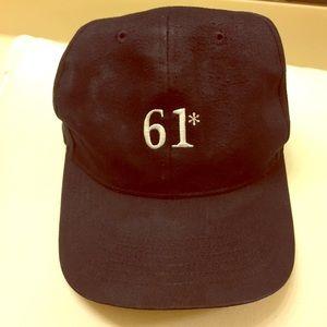 RARE • 61* Baseball Cap • NY YANKEES HAT DAY 2001
