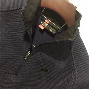 Spyder Other - EUC Spyder Men's Blue/Black Zipper Pullover Size L