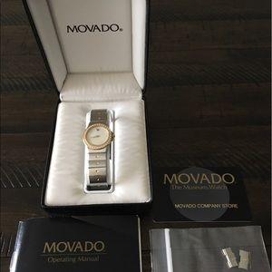 Movado Jewelry - Movado Museum Women's Diamond Watch