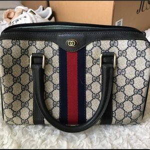 Gucci Handbags - Vintage Gucci Boston Bag