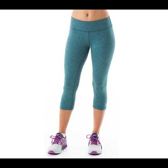 b88a6de2414b NWT Dark Teal Asics Yoga Pants
