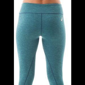 9b777c5afe77 Asics Pants - NWT Dark Teal Asics Yoga Pants
