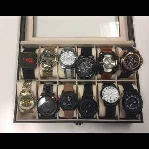 Other - 12 watch Bundle All New In Plastic
