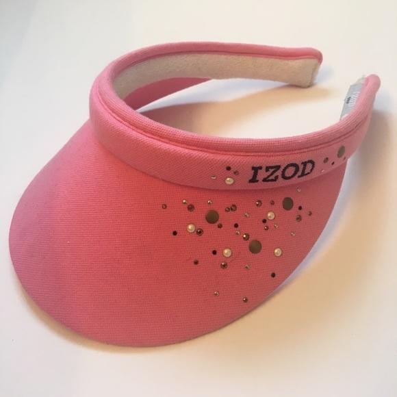Izod Accessories - Izod Pink Golf Visor 36de169f68e