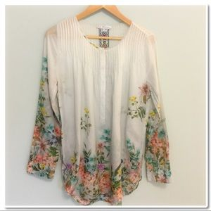 Johnny Was Tops - 3J Workshop Johnny Was Floral Tunic