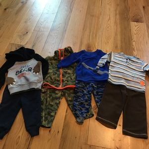 Other - Four fleece outfits for baby