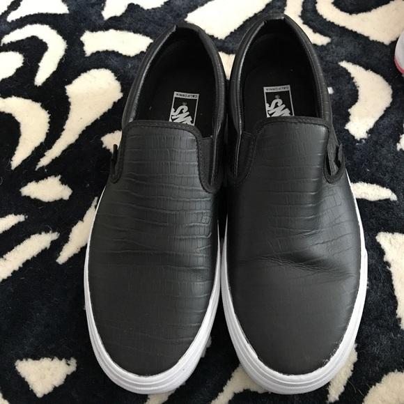 Vans Shoes | Mens Vans Loafer Size Worn