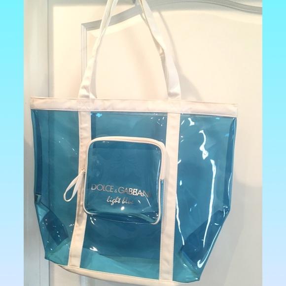 Dolce   Gabbana Handbags - 💋Dolce   Gabbana light blue beach bag 0ff1fabf224bc