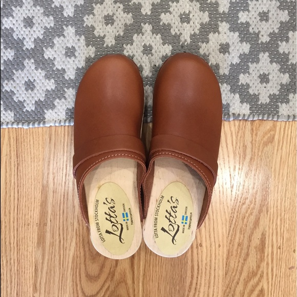 Lotta from Stockholm Shoes - NEW! Lotta from Stockholm Classic Tan Clog
