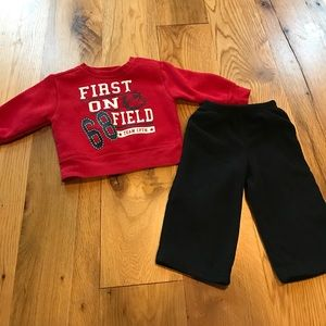 Other - Sweat shirt and fleece pants for baby