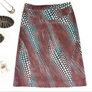 Versus Versace Velour Skirt