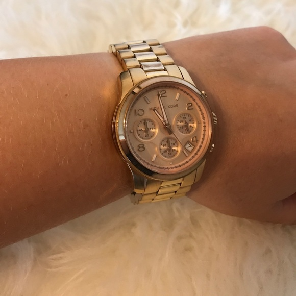 michael kors chronograph watch instructions