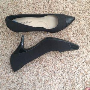 Ellen Tracy black heels