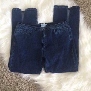 Calvin Klein Jeans Denim - Vintage Calvin Klein Blue Jean Capris
