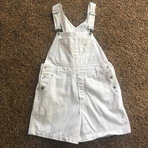 Calvin Klein overalls/shorts women's size medium