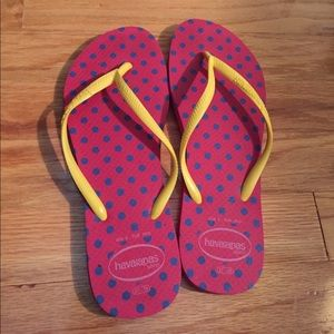 Havaianas - worn a couple times!
