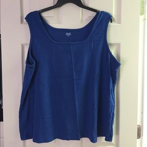 Falls Creek Tops - Royal Blue Tank Top