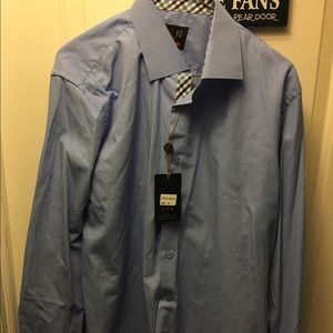Blue Button Down Shirt size XL