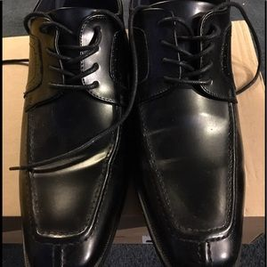 Other - Joseph Abboud Black dress shoes size 12 worn once