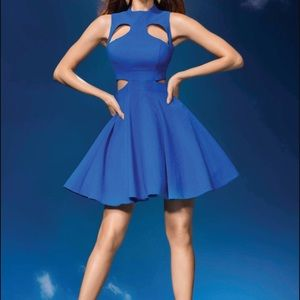 Forever Unique Dresses & Skirts - Forever Unique London Sapphire Blue Dress