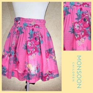 Monsoon Other - Beautiful Cotton Floral Skirt by Monsoon, New Cond