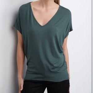 Amour Vert Tops - 🌟HP🌟Amour Vert 'Mayr' V-neck Tee. Moss