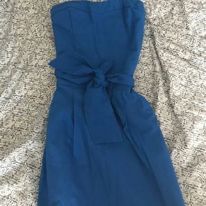 Abercrombie and Fitch | Blue StraplessTube Dress