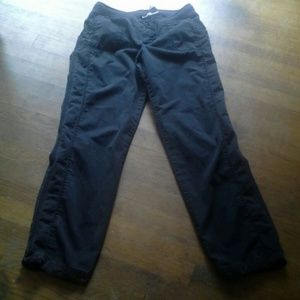 No Boundaries Pants - Black cotton pants