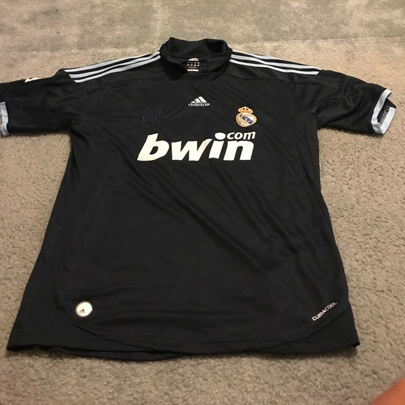 sports shoes c5e54 9dbe6 2009/2010 Real Madrid Away Jersey #9 Ronaldo